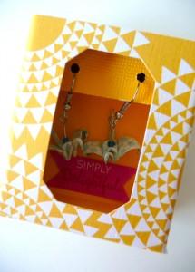 idée de packaging pour boucles d'oreille