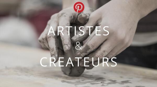 Tableau collectif Artistes et Créateurs sur Pinterest