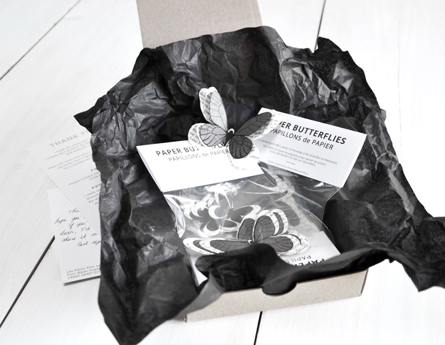 Packaging Les Petits Pois sont Bleus