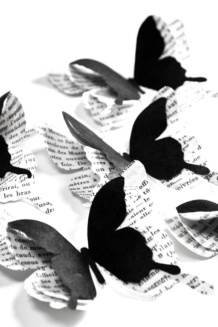 Papillons noirs - Les Petits Pois sont Bleus