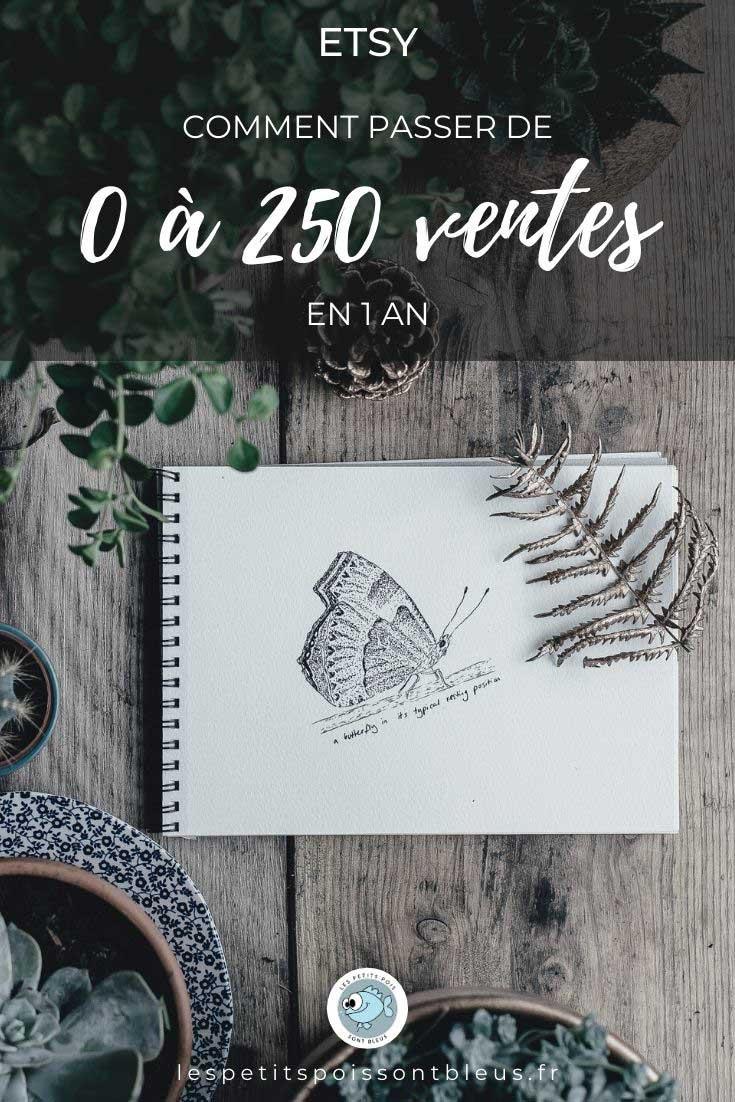 etsy : 250 ventes en 1 an