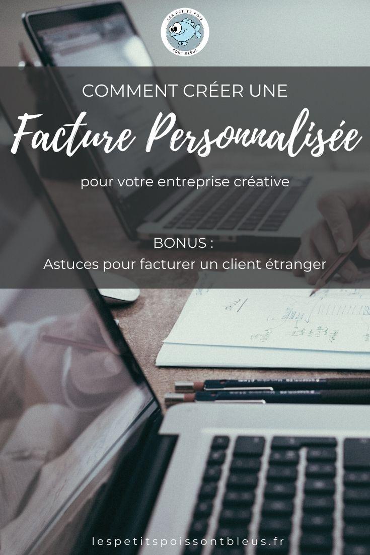 créer une facture personnalisee pour son entreprise creative