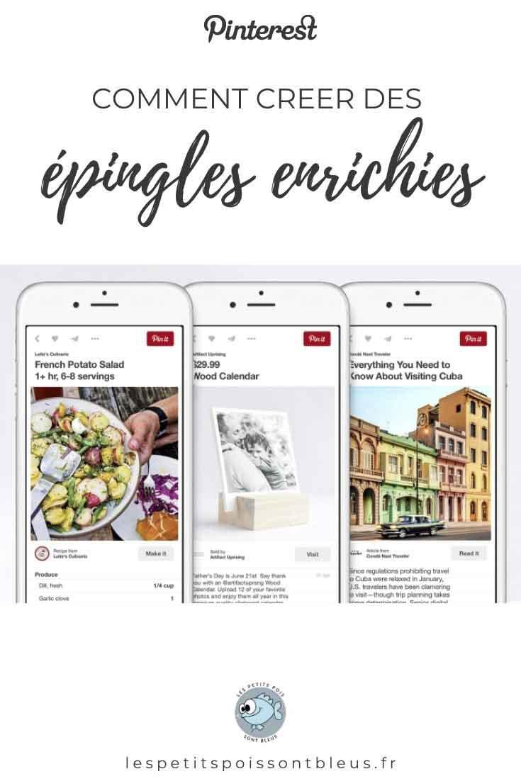 Comment créer des épingles enrichies sur Pinterest ?