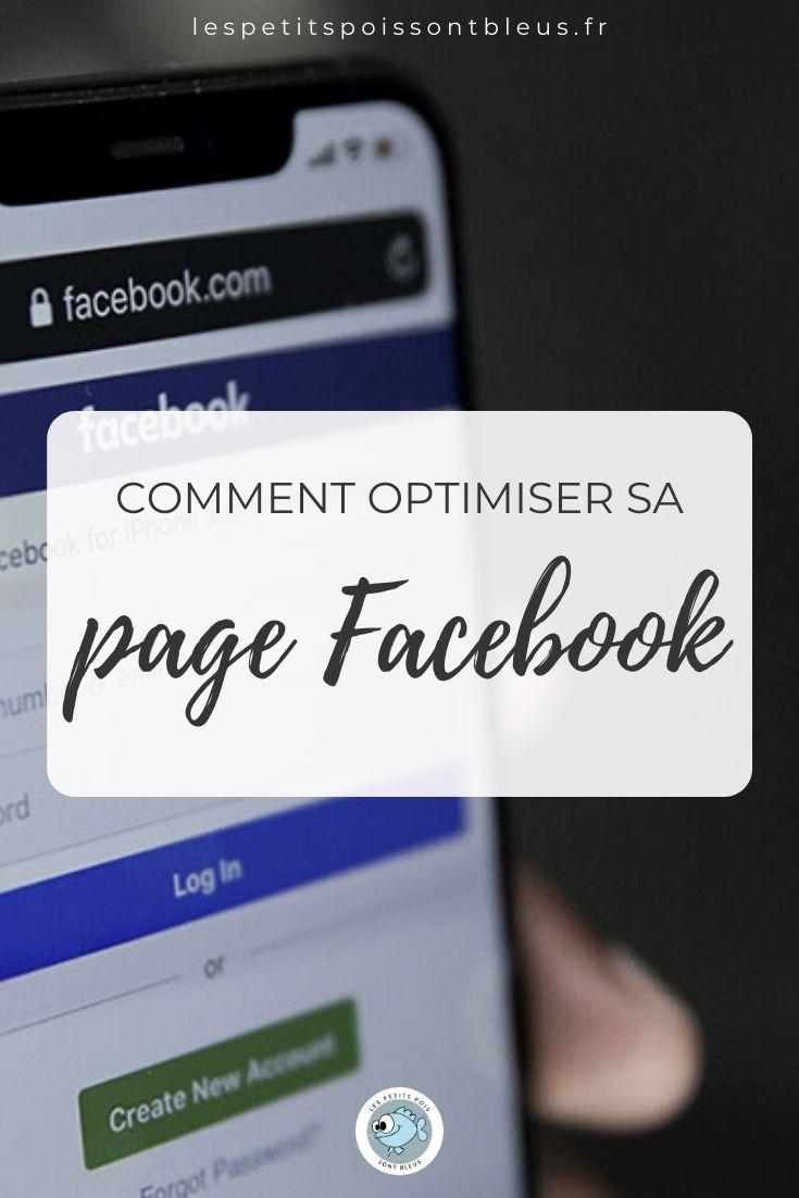 comment optimiser la page Facebook de votre business créatif