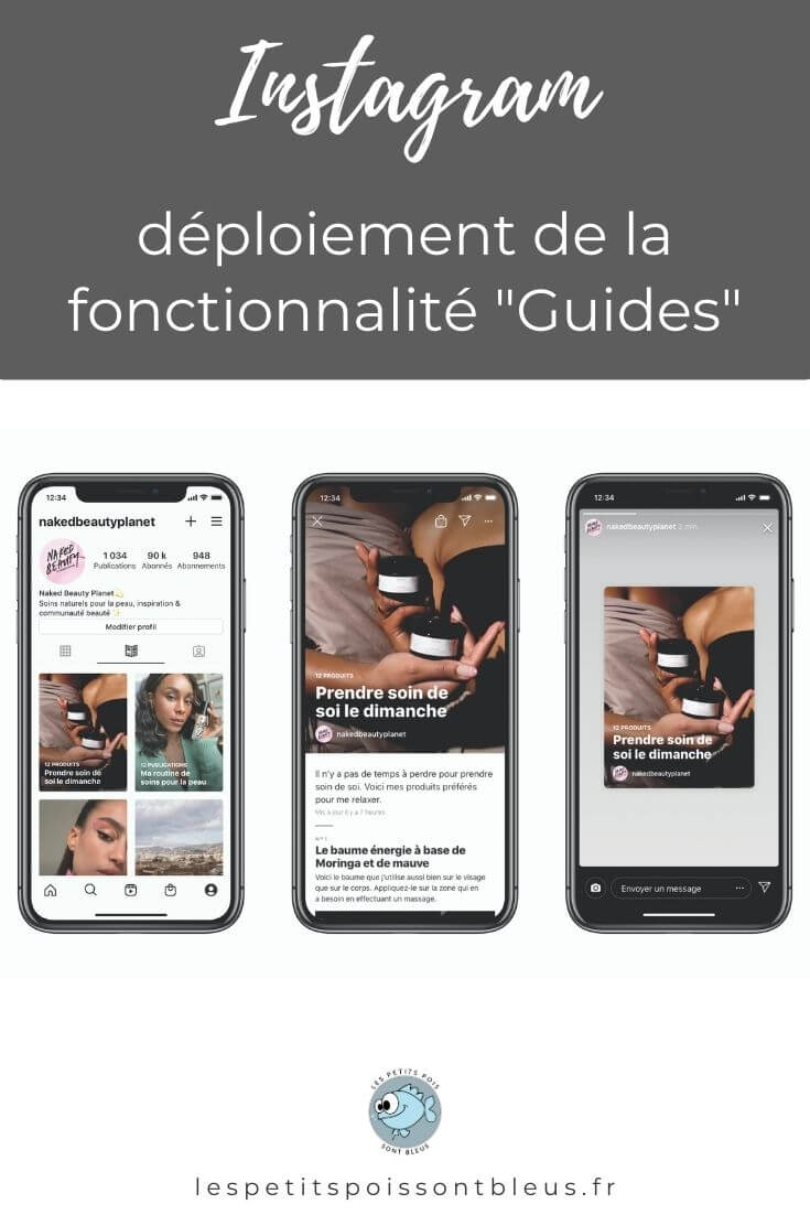 Les guides Instagram déployés à l'international