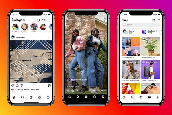 Instagram : un nouveau design