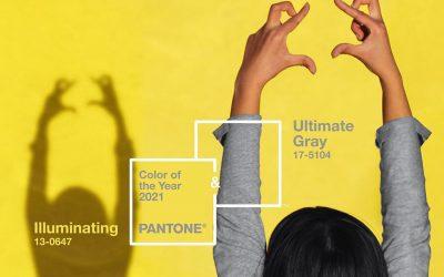 Pantone : les couleurs de l'année 2021 dévoilées