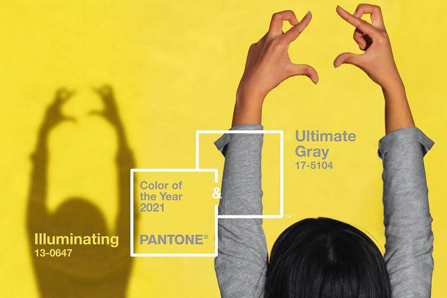 Pantone dévoile la couleur de l'année 2021