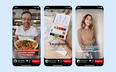 Pinterest : les Epingles Story arrivent en France