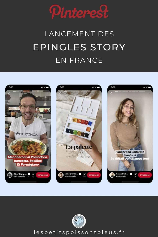 Pinterest déploie les Story Pins en France