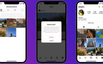 Instagram : comment restaurer des contenus supprimés récemment