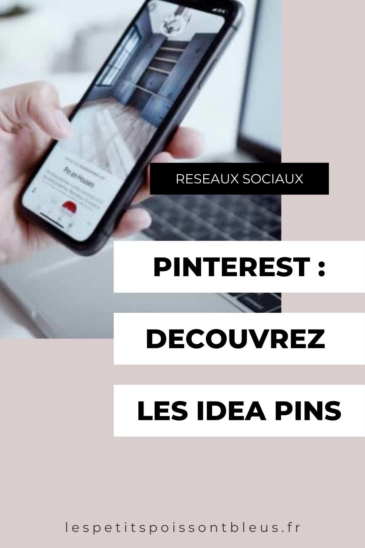 Pinterest : découvrez les Idea pins